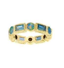 Eden Presley Shades of Blue Eternity Band