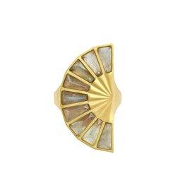 Dean Davidson Labradorite Mosaic Ring