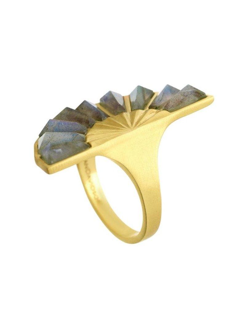 Dean Davidson Labradorite Mosaic Ring - 8