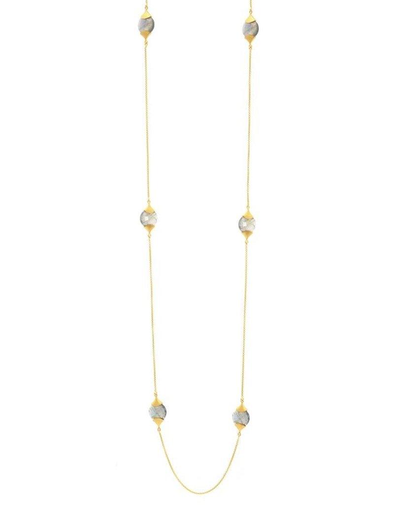 Dean Davidson Casablance Labradorite Charm Necklace
