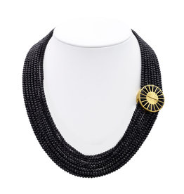 Dean Davidson Mosaic Beaded Collar Necklace