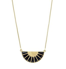 Dean Davidson Adjustable Mosaic Fan Necklace