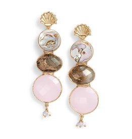 Gas Bijoux Varenka Drop Earrings