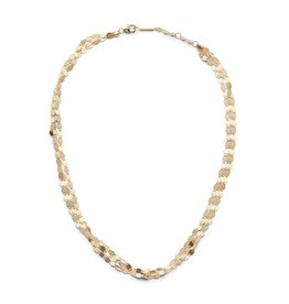 Lana Yellow Gold Three Strand Necklace