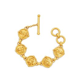 Julie Vos Bee Link Bracelet Gold