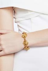 Julie Vos Bee Link Bracelet Gold