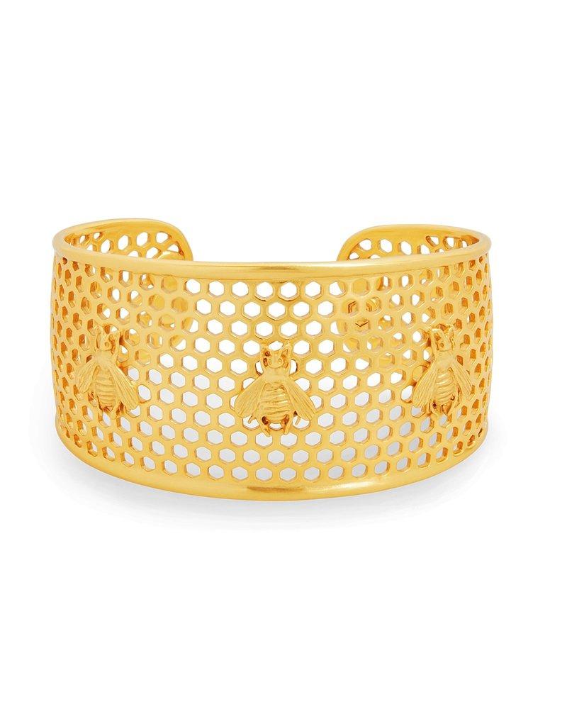 Julie Vos Honeycomb cuff