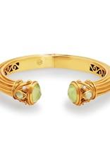 Julie Vos Byzantine Hinge Cuff Gold