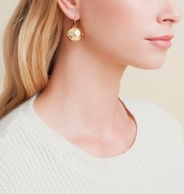 Gas Bijoux Comete Gold Ball Earring