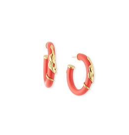 Gas Bijoux Gas Bijoux Red Cobra Earrrings