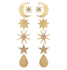 We Dream In Colour Gold Hour Magic Earrings