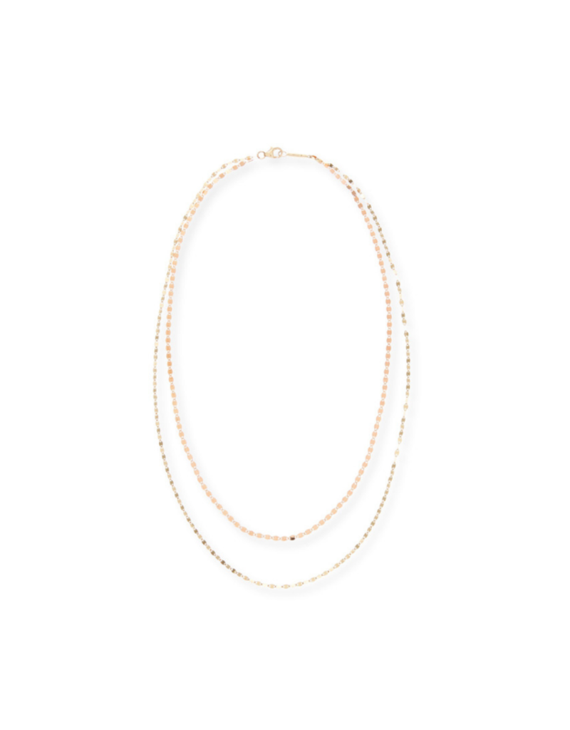 Lana Duo Two-Tone Layering Necklace