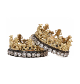 Armenta Armenta Old World Crown Ring