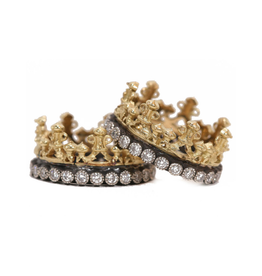 Armenta Armenta Old World Crown Ring