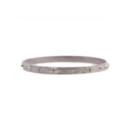 Armenta Silver Sapphire & Diamond Bangle
