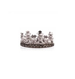 Armenta New World Champagne Diamond Crown Ring