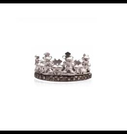 New World Champagne Diamond Crown Ring