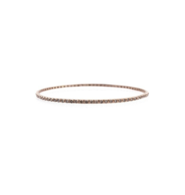 Armenta Sueno Rose Gold Diamond Bangle