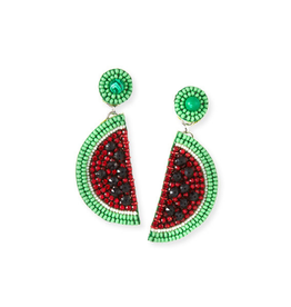Ranjana Khan Le Melon Beaded Earrings