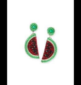 Ranjana Khan Le Melon Beaded Earrings