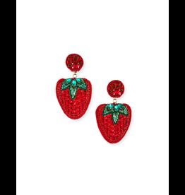 Ranjana Khan Les Fraises Beaded Earrings