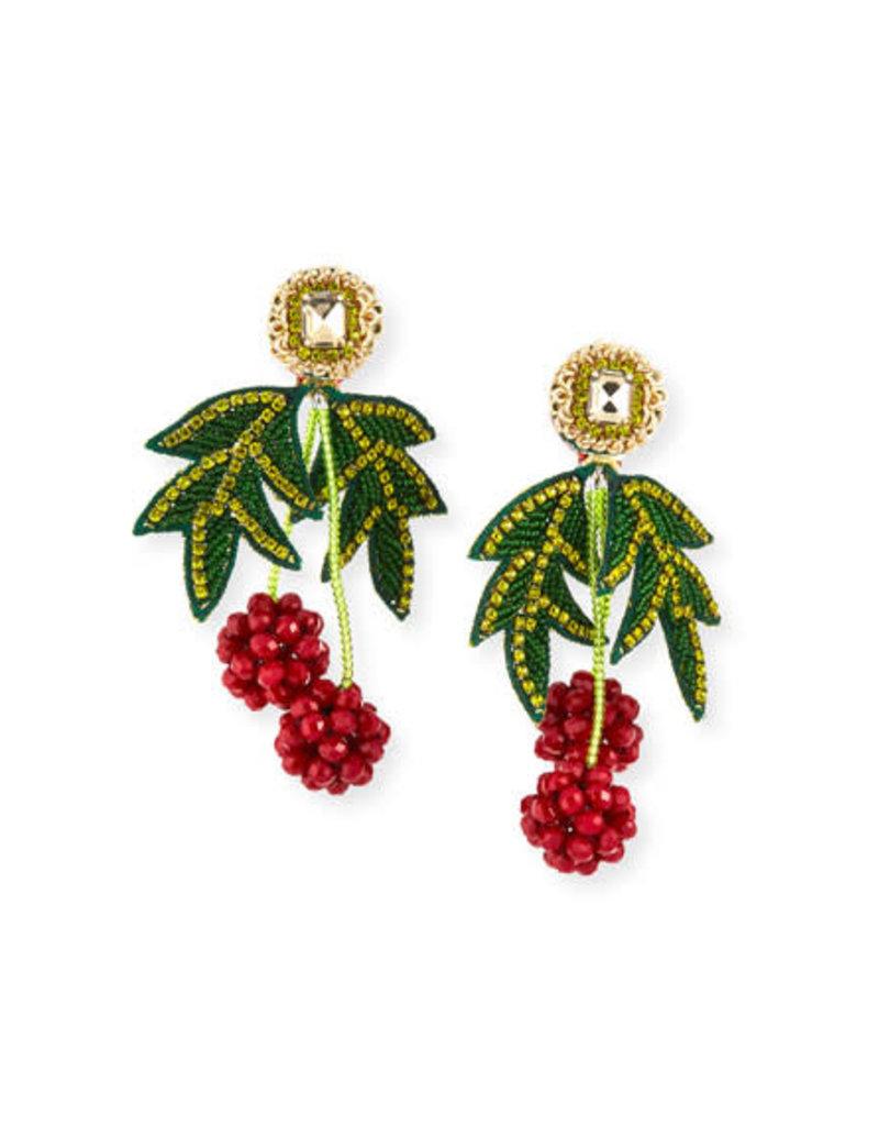 Ranjana Khan Les Framboises Earrings