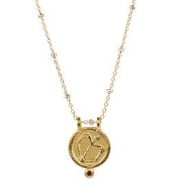 Sagittarius Zodiac Necklace