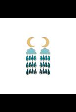 Night Shower Earrings