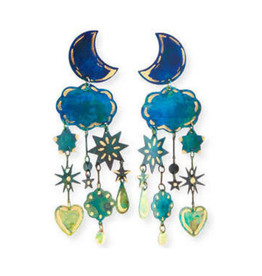 We Dream In Colour Gilded Yasmine Earrings