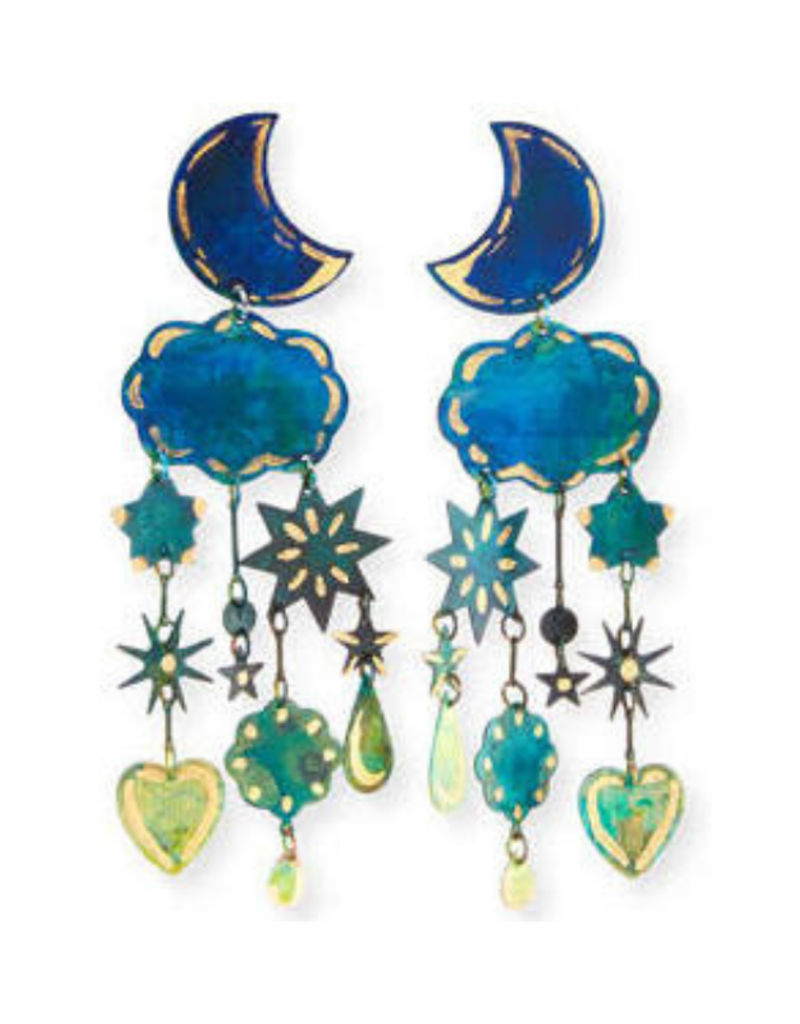 We Dream In Colour Gilded Yasmine Earrings