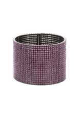 Theia Purple & Gunmetal Bangle