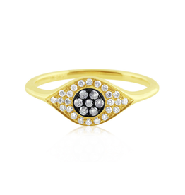 J.Luu Evil Eye Ring