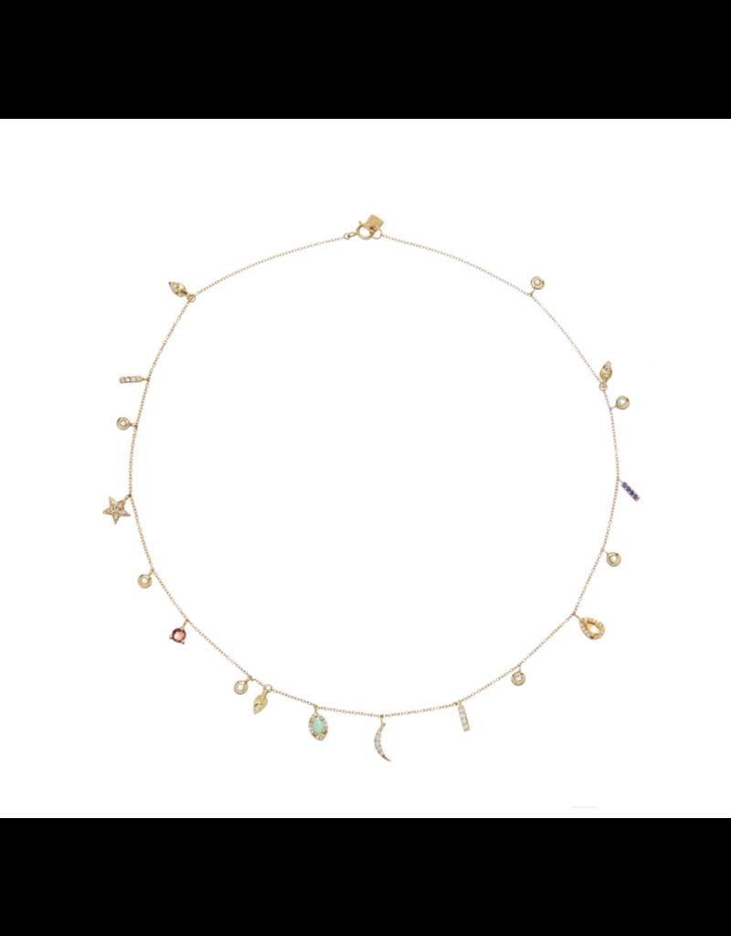 Scosha Mixed Charm Necklace