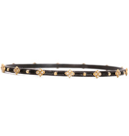 Armenta Old World Yellow Gold and Diamond Bracelet