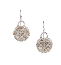 Sterling Silver Marrakesh Earrings .12mm dia