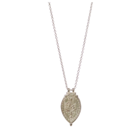 Sterling Silver Prayer Necklace