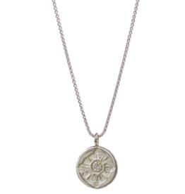Sterling Silver LULU flower Necklace