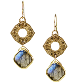 Poppy Labradorite Earrings