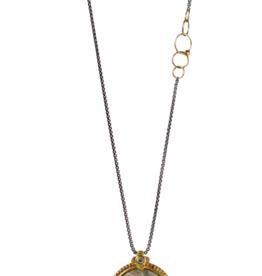 Labradorite Crown Necklace