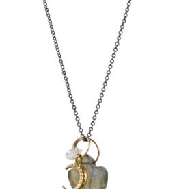 Labradorite Luna Necklace