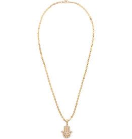 Lana Flawless Small Hamsa Amulet