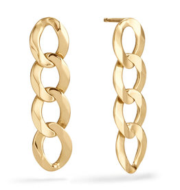Lana Linear Casino Chain Earrings