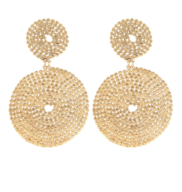 Gas Bijoux Onde Lucky Earrings Gold