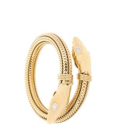 Gas Bijoux Cobra Enamel Bracelet