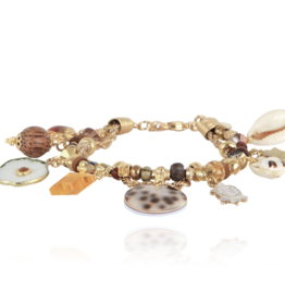 Gas Bijoux Comedia Charm Bracelet