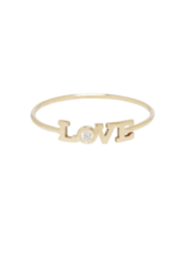 Zoe Chicco 14k Itty Bitty Diamond Love Ring