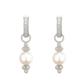 Jude Frances Small Provence Pearl Charms White Gold
