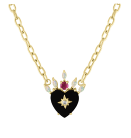 Eden Presley Queen of Hearts Necklace