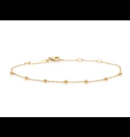 Zoe Chicco 14K 7 Scattered Tiny Beads Bracelet