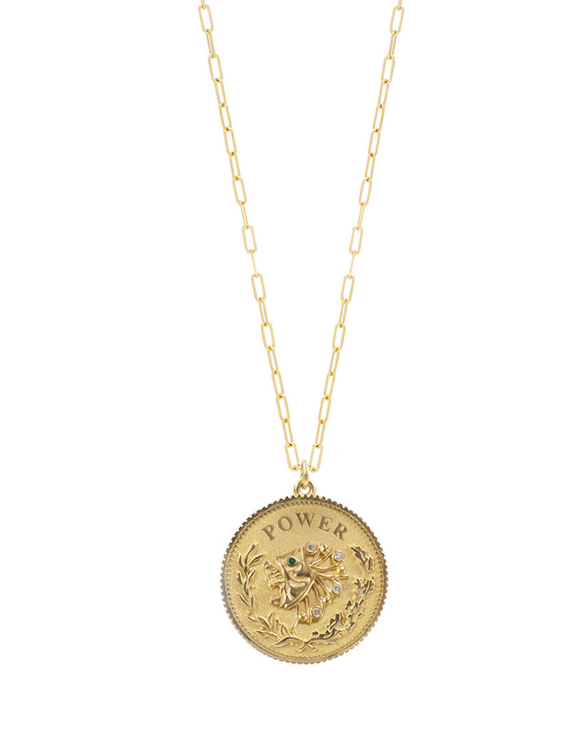 Noush Daric Medallion Power Necklace
